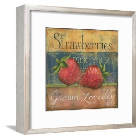 Strawberries-Kim Lewis-Framed Art Print