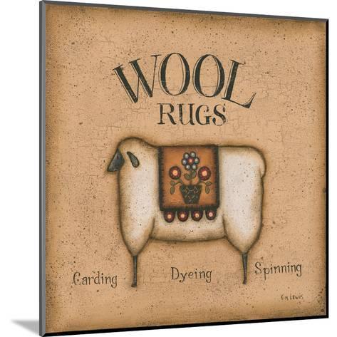 Wool Rugs-Kim Lewis-Mounted Art Print