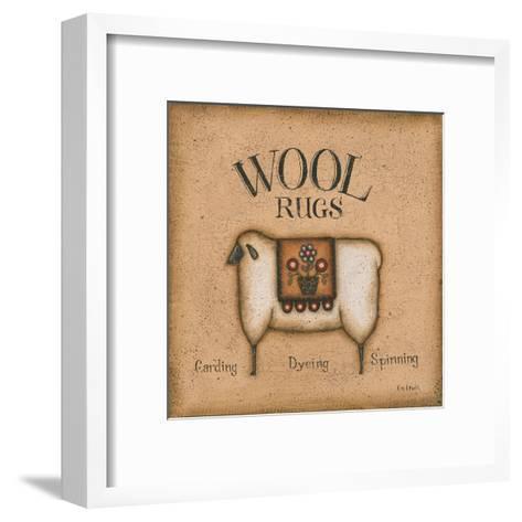 Wool Rugs-Kim Lewis-Framed Art Print