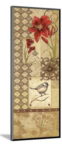 Floral Collage I-Jo Moulton-Mounted Art Print