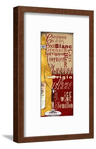 White Wine-Lisa Wolk-Framed Art Print