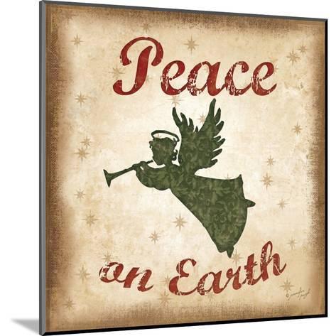 Peace on Earth-Jennifer Pugh-Mounted Art Print