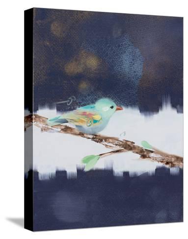 Three Chicks I-Ninalee Irani-Stretched Canvas Print