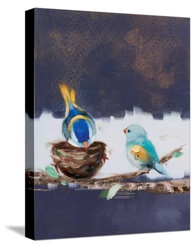 Three Chicks II-Ninalee Irani-Stretched Canvas Print