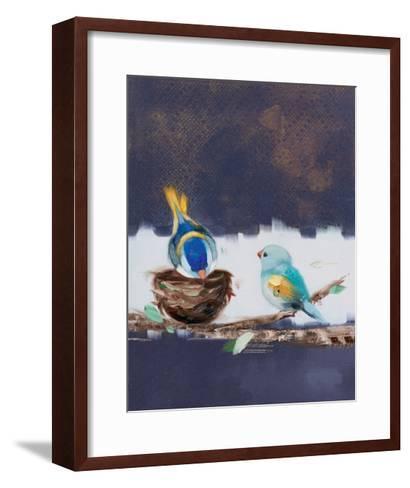 Three Chicks II-Ninalee Irani-Framed Art Print