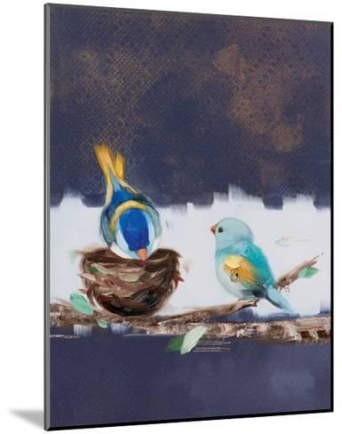 Three Chicks II-Ninalee Irani-Mounted Art Print