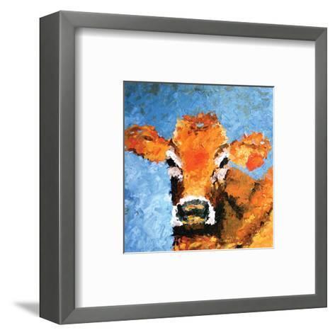 Cow--Framed Art Print