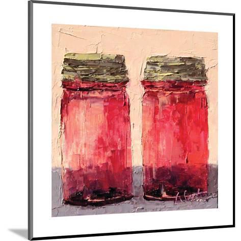 Cranberry Jars--Mounted Art Print