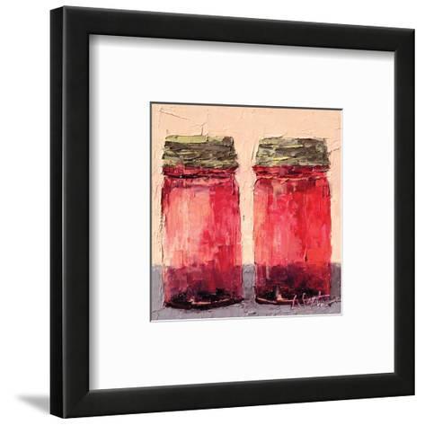 Cranberry Jars--Framed Art Print