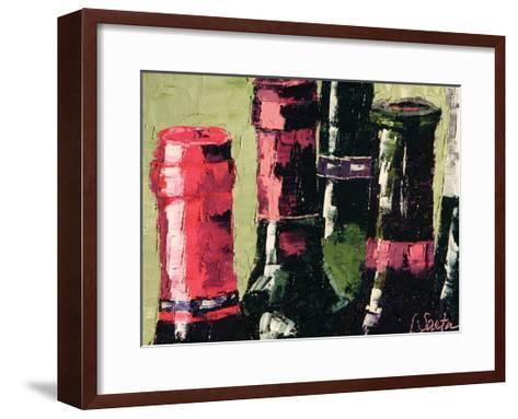 Still Corked--Framed Art Print