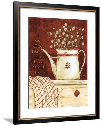 May God Bless-Jo Moulton-Framed Art Print