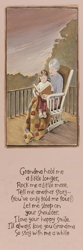 Grandma-Karen Tribett-Stretched Canvas Print