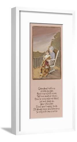 Grandma-Karen Tribett-Framed Art Print