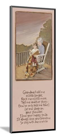 Grandma-Karen Tribett-Mounted Art Print