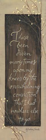 I Have Been Driven-Karen Tribett-Stretched Canvas Print