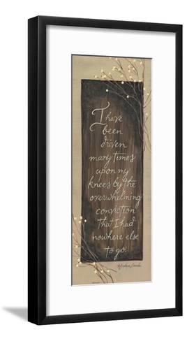 I Have Been Driven-Karen Tribett-Framed Art Print