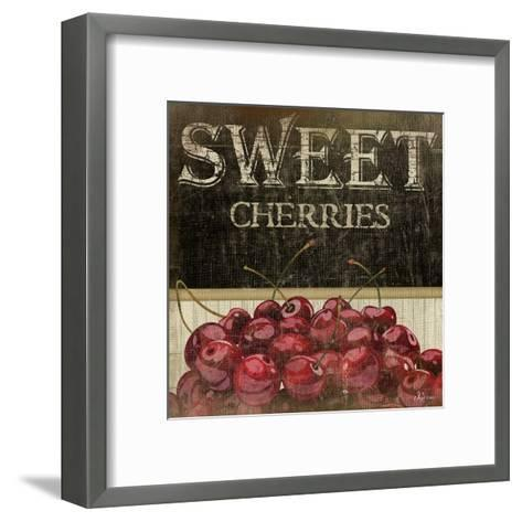 Sweet Cherries-Jennifer Pugh-Framed Art Print