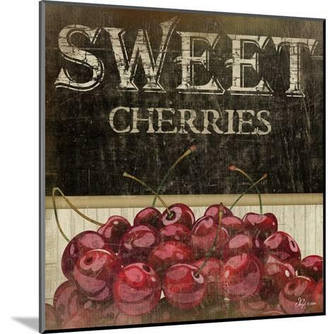 Sweet Cherries-Jennifer Pugh-Mounted Art Print