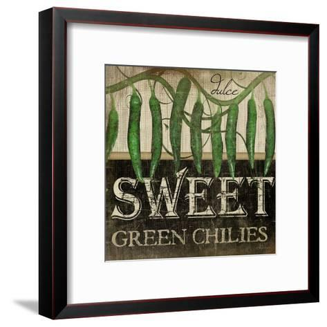 Sweet Green Chilies-Jennifer Pugh-Framed Art Print