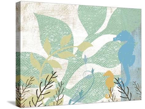 Sea Life I-Jennifer Pugh-Stretched Canvas Print