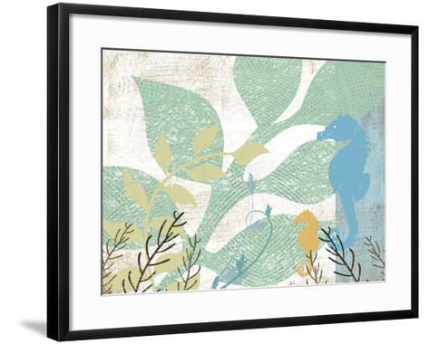 Sea Life I-Jennifer Pugh-Framed Art Print