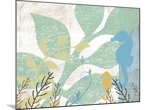 Sea Life I-Jennifer Pugh-Mounted Art Print