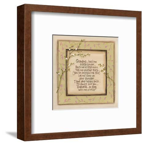 Hold Me Grandpa-Karen Tribett-Framed Art Print