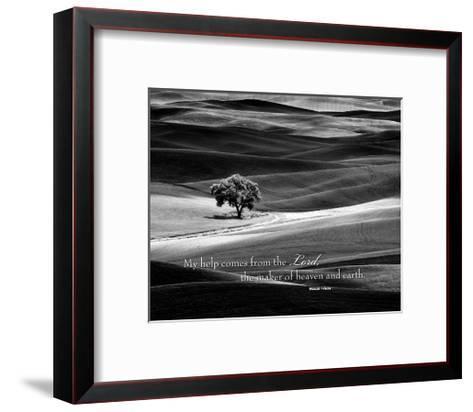 My Help Comes-Dennis Frates-Framed Art Print