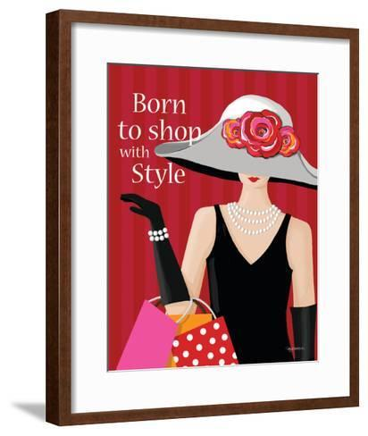 Born with Style-Kathy Middlebrook-Framed Art Print