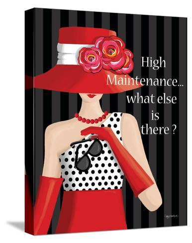 High Maintenance-Kathy Middlebrook-Stretched Canvas Print