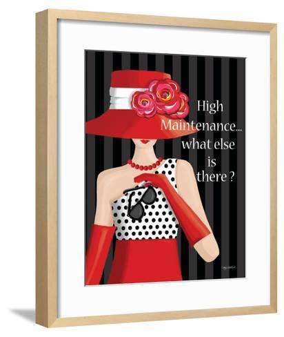 High Maintenance-Kathy Middlebrook-Framed Art Print