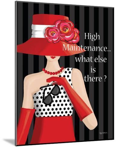 High Maintenance-Kathy Middlebrook-Mounted Art Print