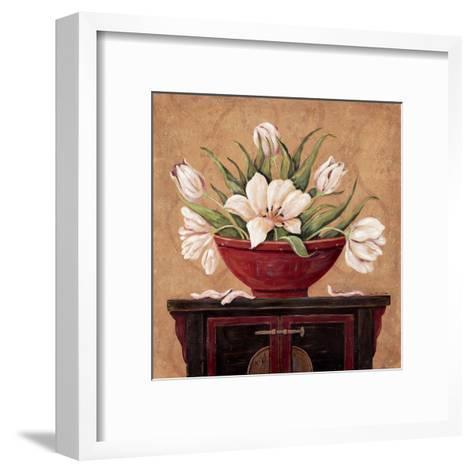 Zen Tulips-Jo Moulton-Framed Art Print