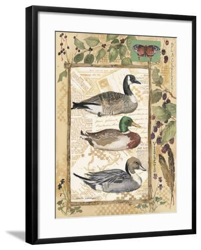 Three Ducks-Anita Phillips-Framed Art Print