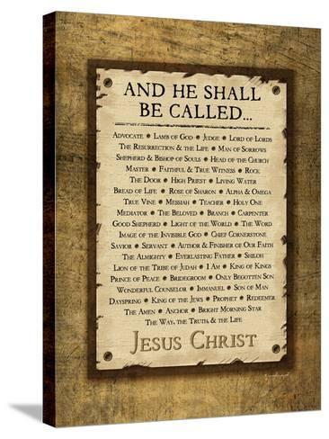 Names of Christ-Jennifer Pugh-Stretched Canvas Print