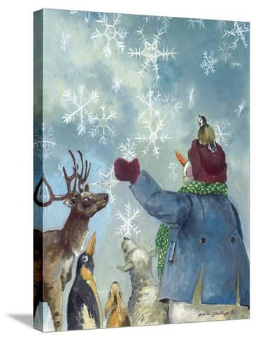 Let it Snow-Anita Phillips-Stretched Canvas Print