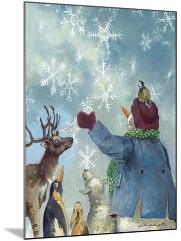 Let it Snow-Anita Phillips-Mounted Art Print