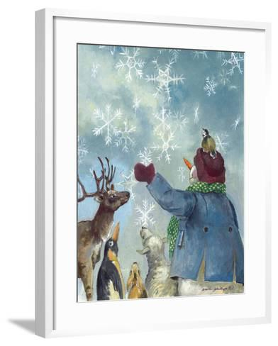 Let it Snow-Anita Phillips-Framed Art Print