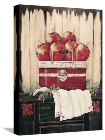 Ruby Red-Jo Moulton-Stretched Canvas Print