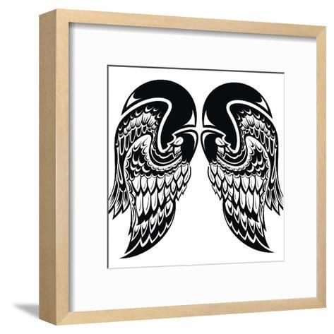 Angel Wings-worksart-Framed Art Print