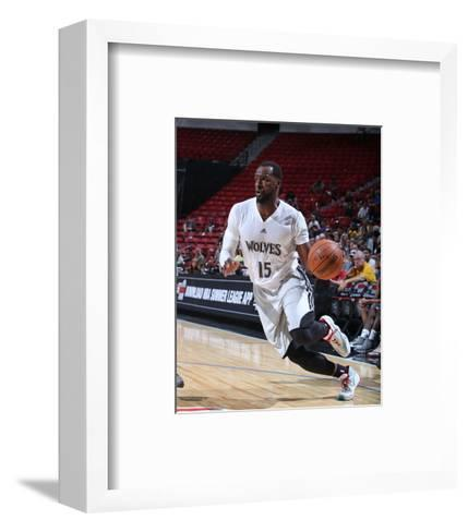 Dallas Mavericks v Minnesota Timberwolves-Jack Arent-Framed Art Print