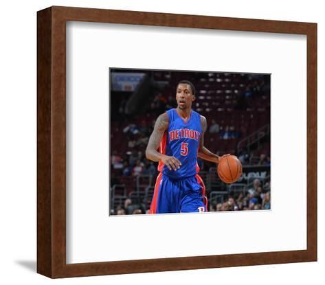 Philadelphia 76Ers V Detroit Pistons-Jesse D Garrabrant-Framed Art Print