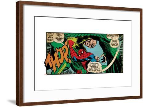 Marvel Comics Retro Style Guide: Spider-Man, Vulture--Framed Art Print