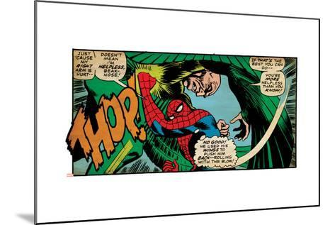 Marvel Comics Retro Style Guide: Spider-Man, Vulture--Mounted Art Print