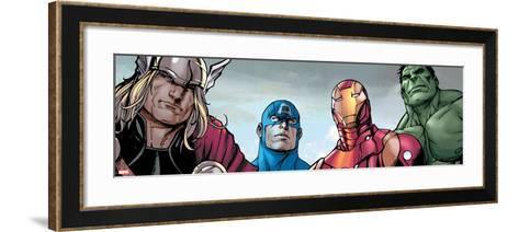 Avengers Assemble Style Guide: Thor, Captain America, Iron Man, Hulk--Framed Art Print