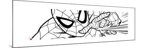 Ultimate SpiderMan - Fall 2013 Panel Line Art--Mounted Art Print