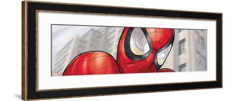 Ultimate Spider-Man Style Guide: Spider-Man--Framed Art Print