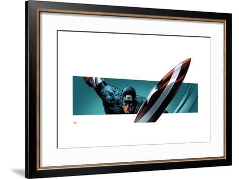 Avengers Assemble Style Guide: Captain America--Framed Art Print