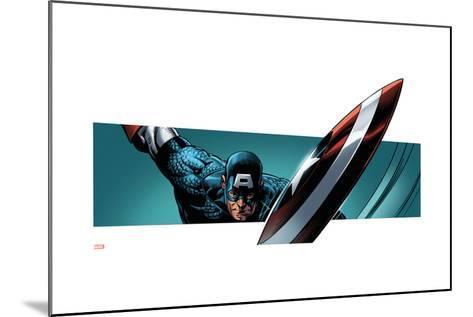 Avengers Assemble Style Guide: Captain America--Mounted Art Print