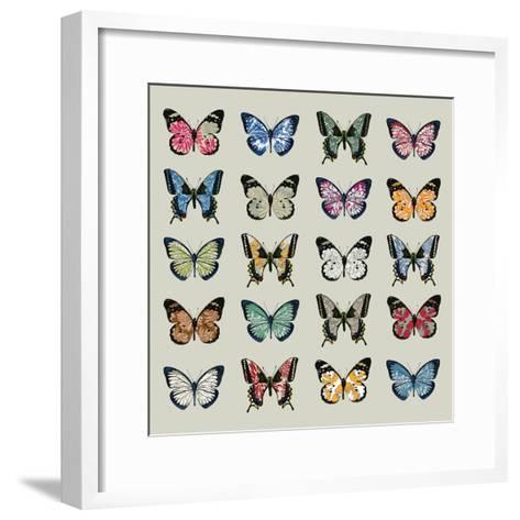 Papillon, 2008-Sarah Hough-Framed Art Print